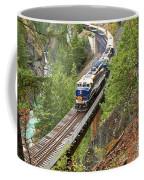The Rocky Mountaineer Railroad Coffee Mug