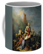 The Russians In 1812, 1855 Oil On Canvas Coffee Mug