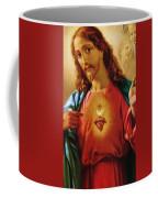 The Sacred Heart Of Jesus Coffee Mug