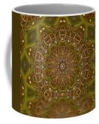 The Sacred Sunset In Golden Light Coffee Mug