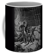 The Sailors Curse The Mariner Forced To Wear The Dead Albatross Around His Neck Coffee Mug
