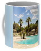 The Sandpiper Pool Palm Desert Coffee Mug