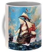 The Santa Maria Coffee Mug by James Edwin McConnell