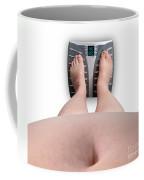 The Scale Says Series Fat Ass Coffee Mug