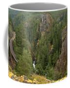 The Scenic Cheakamus River Gorge Coffee Mug
