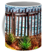 The Sea Fence Siesta Key Fla. Coffee Mug