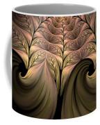 The Secret World Of Plants Abstract Coffee Mug