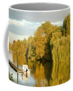 The Seine At Bonnieres Coffee Mug by Olivier Le Queinec