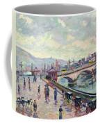 The Seine At Rouen Coffee Mug