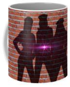The Shadow Of The Grafitti Ladies Coffee Mug
