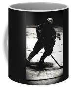 The Shadows Of Hockey Coffee Mug
