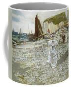 The Shingle Beach Coffee Mug by James Kay