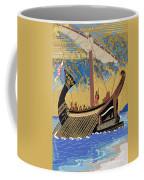 The Ship Of Odysseus Coffee Mug