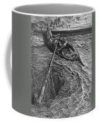 The Ship Sinks But The Mariner Is Rescued By The Pilot And Hermit Coffee Mug