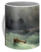 The Shipwreck Coffee Mug by Ivan Konstantinovich Aivazovsky