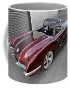 The Show Winner 1958 Corvette Coffee Mug
