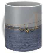 The Shrimp Boat Predator  Art Coffee Mug