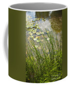 The Side Of The Lily Pond Coffee Mug