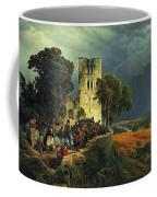 The Siege. Defense Of A Church Courtyard During The Thirty Years' War Coffee Mug