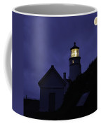 The Silvery Moon And The Light House Coffee Mug