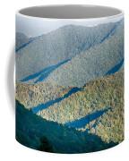 The Simple Layers Of The Smokies At Sunset - Smoky Mountain Nat. Coffee Mug