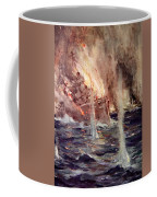 The Sinking Of The Gneisenau Coffee Mug