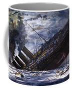 The Sinking Of The Titanic Coffee Mug