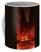 The Siq -- Petra Coffee Mug