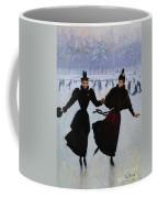 The Skaters Coffee Mug by Jean Beraud