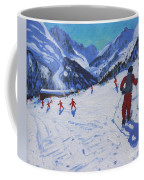 The Ski Instructor Coffee Mug by Andrew Macara