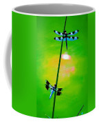 The Skimmer And The Whitetail Art #3 Coffee Mug