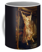 The Slaughtered Ox Coffee Mug by Rembrandt Harmenszoon van Rijn