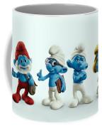 The Smurfs Movie Coffee Mug