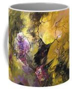 The Snow Owls And The Deers Coffee Mug