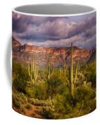 The Sonoran Golden Hour  Coffee Mug