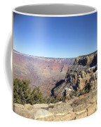 The South Rim In The Winter Coffee Mug