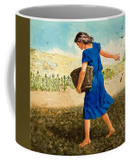 The Sower Of The Seed Coffee Mug by Clive Uptton