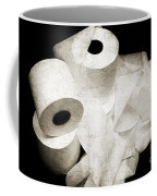 The Spare Rolls 2 - Toilet Paper - Bathroom Design - Restroom - Powder Room Coffee Mug