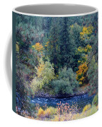 The Spokane River In The Fall Colors Coffee Mug