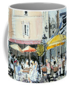 The Square At St. Malo Coffee Mug by Felicity House