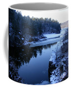 The St. Croix River In December Coffee Mug