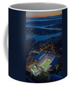 Husky Stadium At Dusk Coffee Mug