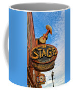 The Stage On Broadway Coffee Mug by Dan Sproul