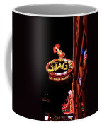 The Stage On Broadway In Nashville Coffee Mug by Dan Sproul