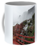 The Stairs To The Cave Of The Winds - Niagara Falls Coffee Mug
