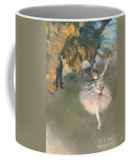 The Star Or Dancer On The Stage Coffee Mug