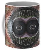 The Stare Coffee Mug by Debra and Dave Vanderlaan