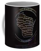 The State Of Wisconsin Coffee Mug