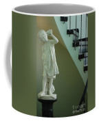 The Statue In The Stairway Coffee Mug