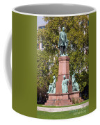 The Statue Of Istvan Szechenyi In Budapest Coffee Mug